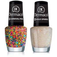 nail polish with effect 5ml w lakier do paznokci 06 yellow pixel marki Dermacol