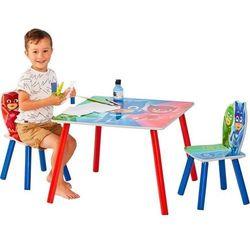 Worlds Apart Pidżamersi Drewniany Stolik Stół i 2 krzesełka dla dzieci (5013138665565)