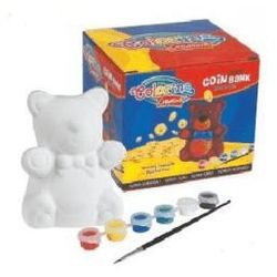 Skarbonka Niedźwiadek Colorino - z kategorii- pozostałe artykuły szkolne i plastyczne