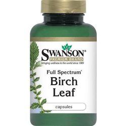 Birch Leaf (liść brzozy) 400mg 60kaps (artykuł z kategorii Pozostałe leki i suplementy)