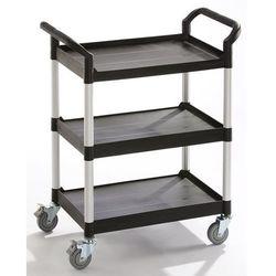 Wózek uniwersalny, 3 piętra, nośność 250 kg, dł. x szer. x wys. 1100x520x1020 mm marki Seco