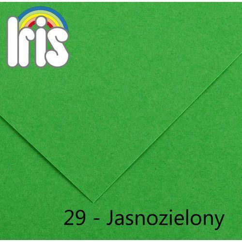 Brystol Canson Iris B1/240g jasny zielony 25ark. - produkt dostępny w MaxiBiuro