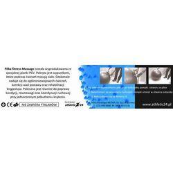 Massage 75 czerwona - Piłka do masażu z kolcami, ATHLETIC24 z ATHLETIC24.PL