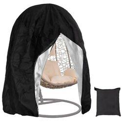 Pokrowiec na fotel wiszący wodoodporny 115x190cm czarny