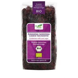Żurawina słodzona cukrem trzcinowym BIO 400g z kategorii Bakalie, orzechy, wiórki