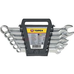 Zestaw kluczy płasko-oczkowych TOPEX 35D373 8 - 17 mm (6 elementów)