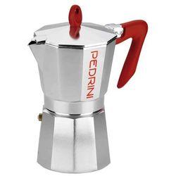 Kawiarka kaffettiera 12 tz srebrny marki Pedrini