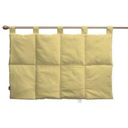 wezgłowie na szelkach, białe kropeczki na żółtym tle, 90 x 67 cm, ashley marki Dekoria