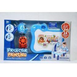 Projektor plastikowy z akcesoriami niebieski (5902012783672)