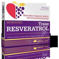 TRANS RESVERATROL 200+ mikronizowany 30kaps z kategorii Pozostałe zdrowie
