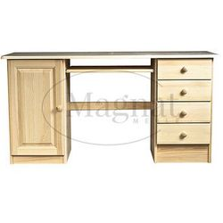 Biurko drewniane conrado marki Magnat - producent mebli drewnianych i materacy