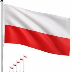 Tuin Maszt flagowy- flaga polska - 6,50 m (4048821749360)