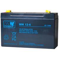 Akumulator żelowy 6,0V/12Ah MW Pb 151x50x100mm, kup u jednego z partnerów