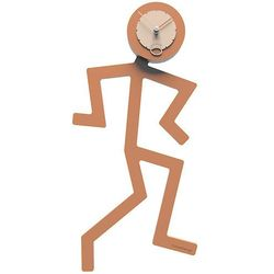 Zegar ścienny mino  terakota marki Calleadesign