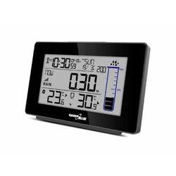 Greenblue Stacja pogody bezprzewodowa gb541 kolorowa z systemem dcf ilość opadów deszczu, kalendarz, termometr