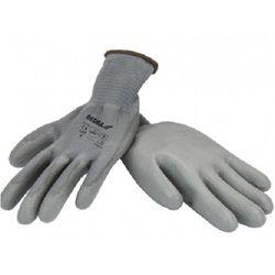 Rękawice robocze bh1009r10 szary (rozmiar xl) marki Dedra