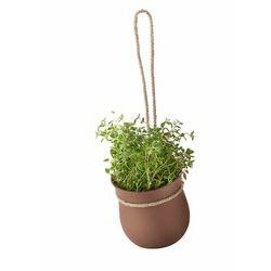 Rig-tig Doniczka samonawadniająca z silikonu grow-it terracota