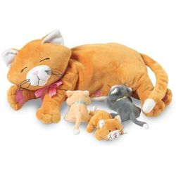 Manhattan Toy, karmiąca mama kotka, maskotka z kategorii maskotki interaktywne