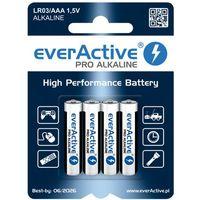 4 x baterie alkaliczne everActive Pro LR03 / AAA (blister) - sprawdź w wybranym sklepie