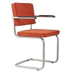 Zuiver Fotel RIDGE RIB pomarańczowy 19A 1006052, 1006052