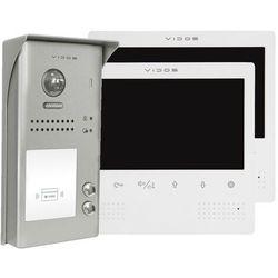 Wideodomofon dwurodzinny z czytnikiem rfid s1102a_m1023w marki Vidos