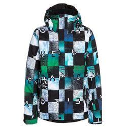 Quiksilver MISSION Kurtka snowboardowa chakalapaki bluefish/andean z kategorii kurtki dla dzieci