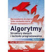 Algorytmy, struktury danych i techniki programowania - Dostawa zamówienia do jednej ze 170 księgarni Matras