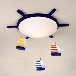 Niermann standby Lampa sufitowa z motywem łodzi żaglówki (4036239006335)