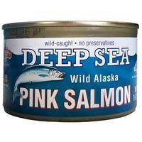 Alaska seafood Dziki łosoś z alaski pink gorbuscha 213g