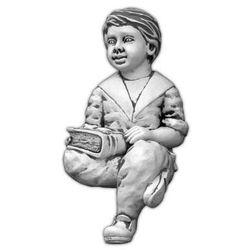 Figura ogrodowa betonowa chłopiec siadający 61cm