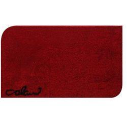Grund Dywanik łazienkowy Colani 40, czerwona, 70x120 cm (8590507214380)