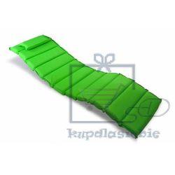 Divero Poduszka 11 segmentów garthen na leżak zielona