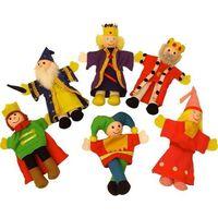 Królewski zestaw - pacynki na palec marki Bigjigs toys