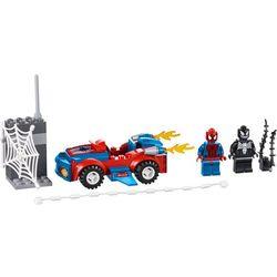 Lego Juniors Spiderman Spider Samochód 10665, kategoria wiekowa [2+]