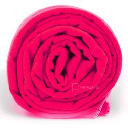 xl szybkoschnący ręcznik treningowy 70x140 cm / różowy - neon różowy marki Dr.bacty