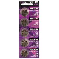 Toshiba 5 x bateria litowa mini  cr1632