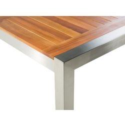 Stół ogrodowy mahoń 220 x 100 cm GROSSETO
