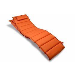 2 poduszki na leżak pomarańczowe
