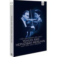 Euroarts: Yehudi And Hephzibah Menuhin (DVD) - Yehudi Menuhin, Hephzibah Menuhin