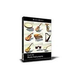 Dosch 3D: Music Instruments z kategorii Programy graficzne i CAD