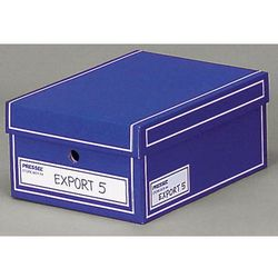 pudło archiwizacyjne a4 350x255x155mm niebieski, 10 sztukac marki Pressel