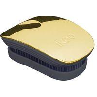 Ikoo Metallic Pocket szczotka do włosów 1 szt dla kobiet Soleil Black