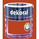 Dekoral Farba lateksowa akrylit w kolor meksykańskie chili 5l