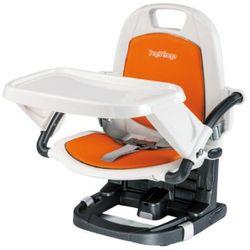 Peg-perego  krzesełko turystyczne rialto arancia special eco leather, kategoria: krzesła i stoliki