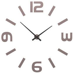Zegar ścienny Donatello CalleaDesign szara śliwka, kolor szary