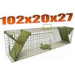 Pułapka dwuwejściowa na szczury, kuny,tchórze, norki, koty ZLK2 - produkt dostępny w Mediasklep24