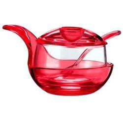 Cukiernica Gemme, czerwona - czerwony
