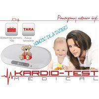 Hi-tech medical kardio-test Waga cyfrowa dla dzieci i niemowląt kt-baby scale