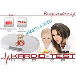 WAGA CYFROWA DLA DZIECI I NIEMOWLĄT KT-BABY SCALE - produkt z kategorii- Wagi dla dzieci