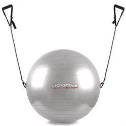 Piłka gimnastyczna z linkami 55cm inSPORTline - Kolor Szary - sprawdź w wybranym sklepie